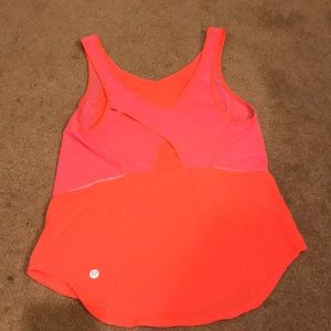 Lululemon top. Super cute. Size 2or a small 4